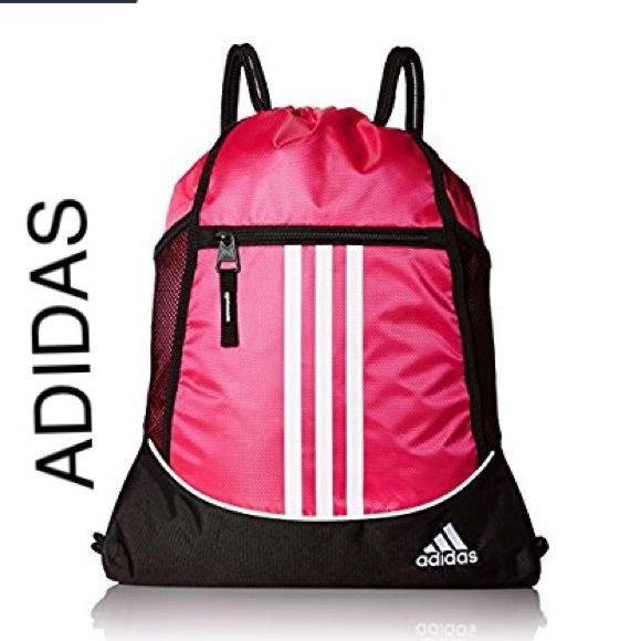 adidas Bags   Pink Backpack   Poshmark 5a4bdfbea5